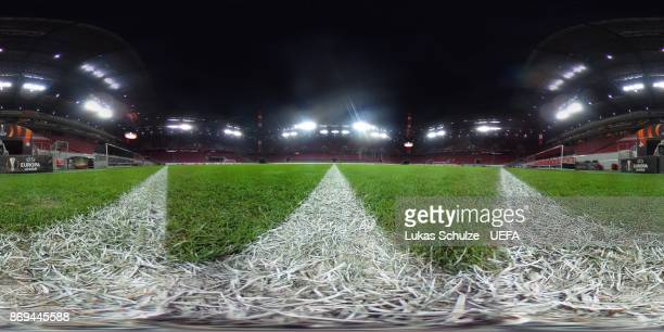 A general view of the pitch prior to the UEFA Europa League group H match between 1 FC Koeln and BATE Borisov at RheinEnergieStadion on November 2...