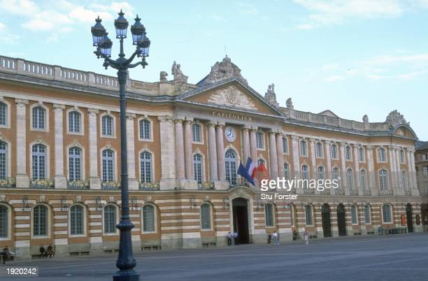 General view of the Place du Capitole in Toulouse France France is the venue for the 1998 World Cup Mandatory Credit Stu Forster/Allsport