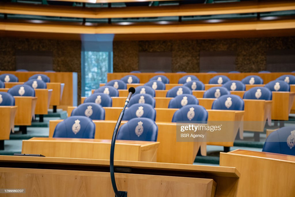 Debate about resignation of the Dutch cabinet January 19 : Nieuwsfoto's