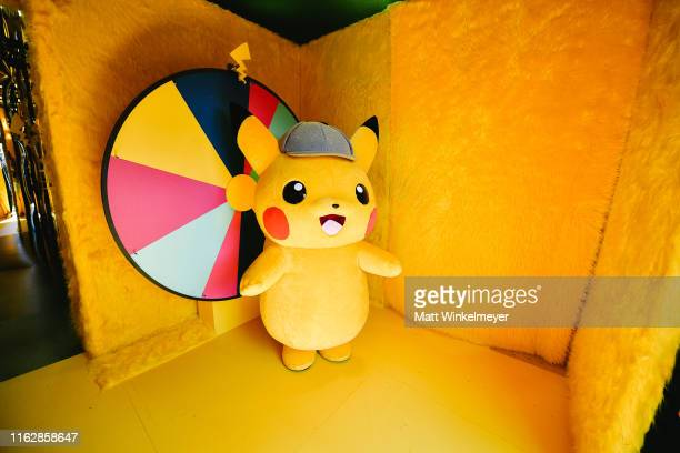 General view of the Pokemon Detective Pikachu activation at the 2019 Comic-Con International on July 18, 2019 in San Diego, California.