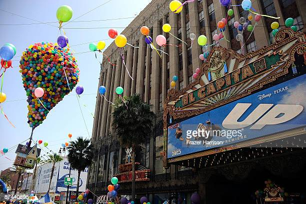 A general view of the premiere of Disney Pixar's ''Up'' at the El Capitan Theatre on May 16 2009 in Hollywood California