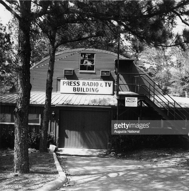 General View Of The Press Building During The 1968 Masters Tournament