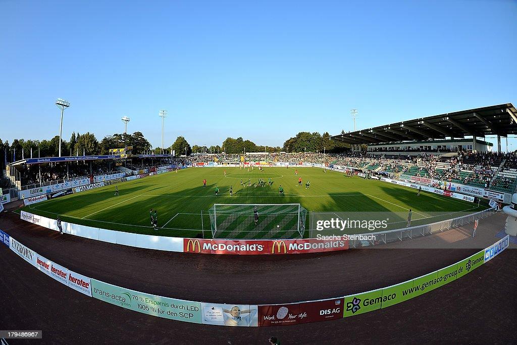 Preussen Muenster v VfB Stuttgart II - 3. Liga : News Photo
