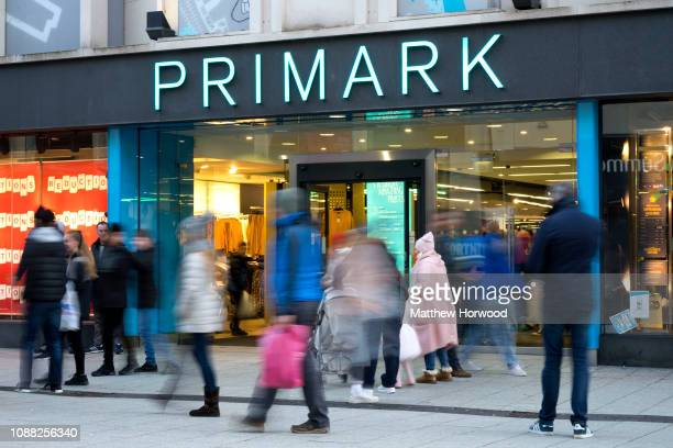 A general view of the Primark store on December 30 2018 in Cardiff United Kingdom Financial management consultancy Deloitte has predicted larger than...