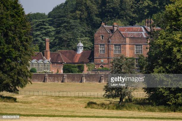 A general view of the Prime Minister's country retreat Chequers on July 6 2018 in Aylesbury England Members of the Cabinet are meeting at Chequers...
