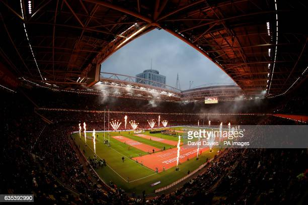 General view of the Principality Stadium during the RBS 6 Nations match at the Principality Stadium, Cardiff.