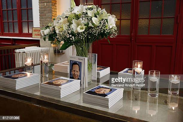A general view of the private Dinner hosted by Surface Magazine And Azzedine Alaia Private Dinner as part of Paris Fashion Week Spring/Summer 2017on...