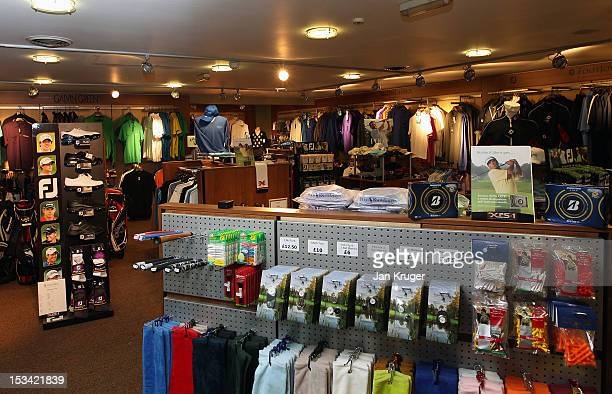 General view of the pro shop during the final round of the Skins PGA Fourball Championship at Forest Pines Hotel Golf Club on October 5 2012 in...