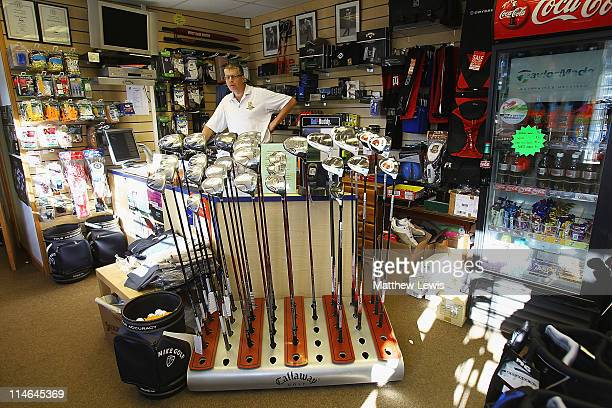 A general view of the Pro Shop during the Powerade PGA Assistants' Championship East Region Qualifier at Wanstead Golf Club on May 25 2011 in...