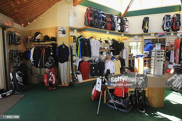 A general view of the Pro Shop during the Virgin Atlantic PGA National ProAm Championship Regional Final at Crieff Golf Club on July 26 2011 in...