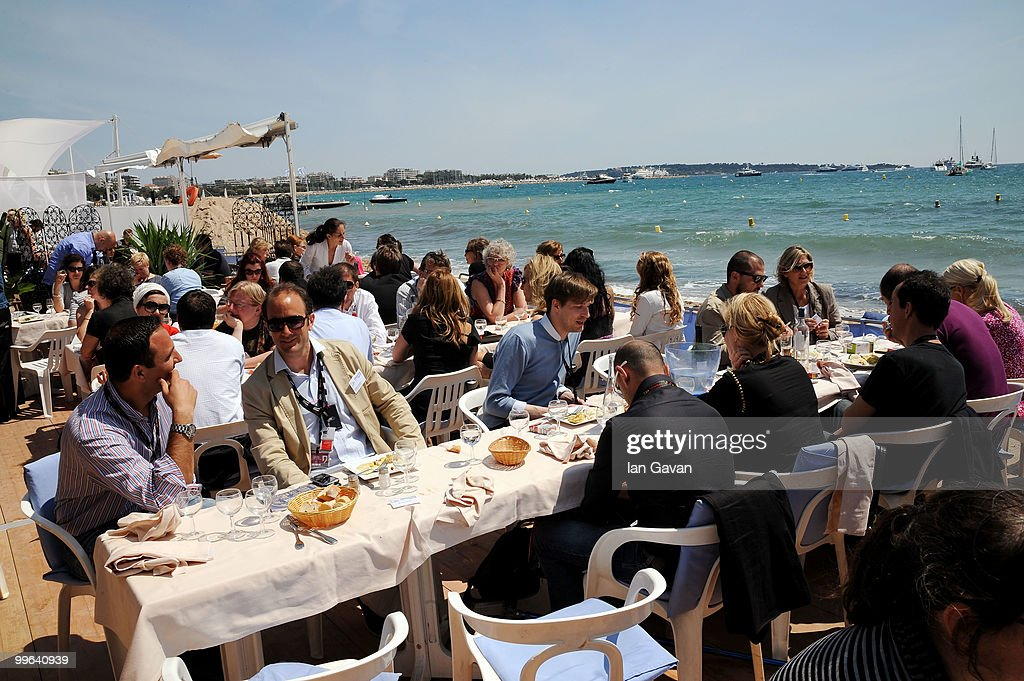 A General View of the 'Producers On The Move' Luncheon at the The VIP Room during the 63rd Annual Cannes Film Festival on May 17, 2010 in Cannes, France.