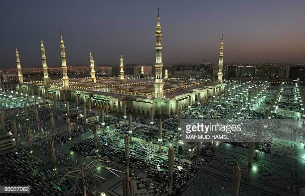 A general view of the Prophet Mohammed Mosque in the Saudi holy city of Medina on November 12 2009 More than three million Muslims are expected to...