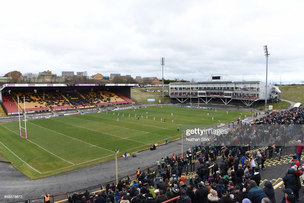 Bradford Bulls V Toulouse Olympique  - Kingstone Press Championship- Second Round : Nieuwsfoto's