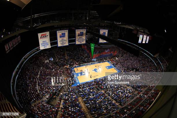 General View of the Prudential Center during the second half of the College Basketball Game between the Seton Hall Pirates and the Villanova Wildcats...