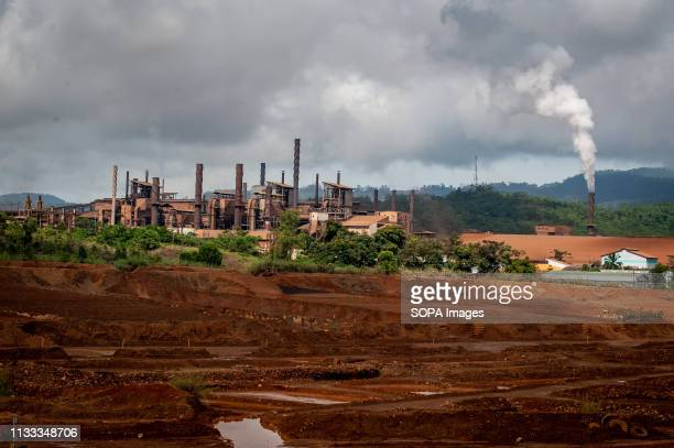 General view of the PT Vale Indonesia nickel plant Nickel mining by the PT Vale Indonesia a nickel plant in Soroako South Sulawesi Indonesia A number...