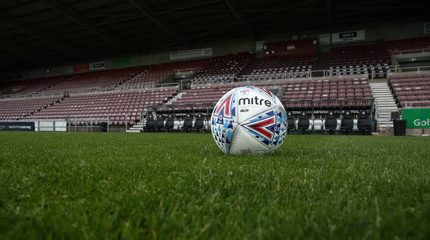 GBR: Northampton Town v Macclesfield Town - Sky Bet League Two