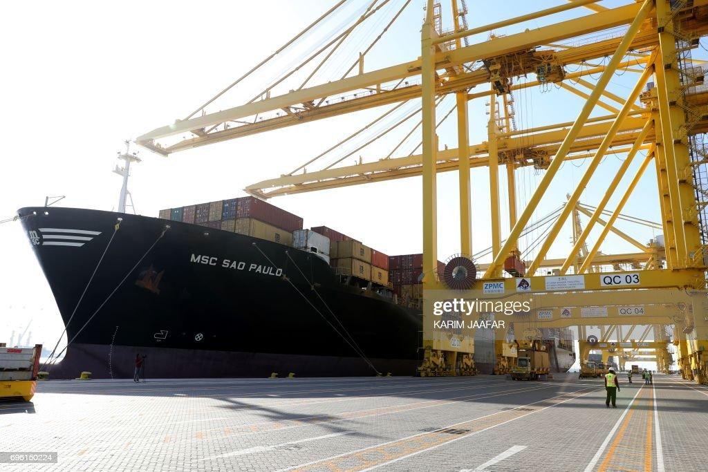 QATAR-ECONOMY-PORT : News Photo