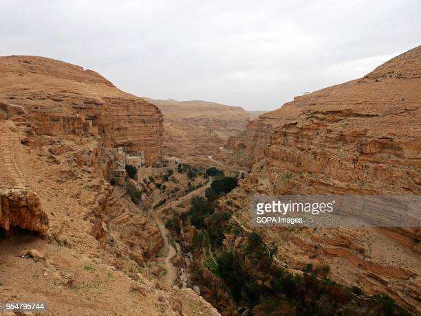 A general view of the Qelt valley near Jericho After US president Donald Trump announced moving the US embassy from Tel Aviv to Jerusalem many...