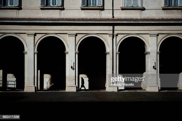 A general view of the Quirinale Palace during the meeting between Chamber of Deputies President Roberto Fico and Italian President Sergio Mattarella...