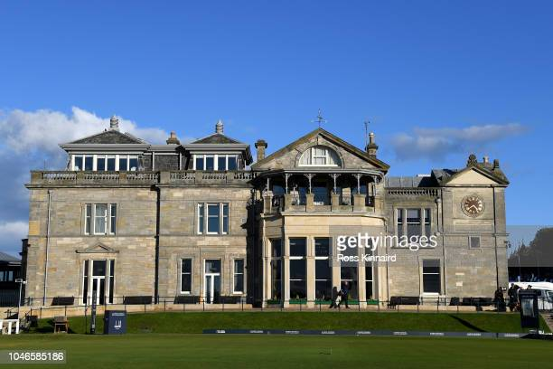 A general view of the RA Clubhouse during day three of the 2018 Alfred Dunhill Links Championship at The Old Course on October 6 2018 in St Andrews...