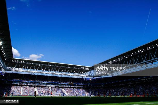 General view of the RCDE Stadium during the Liga match between RCD Espanyol and Valencia CF at RCDE Stadium on November 02 2019 in Barcelona Spain