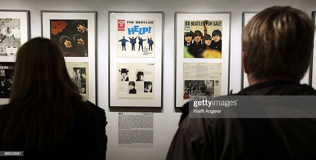 A general view of the records room is seen at the Beatlemania exhibition on May 28, 2009 in Hamburg, Germany. The exhibition, which opens tomorrow, shows the development of the Beatles from their beginnings in Hamburg until they split up.