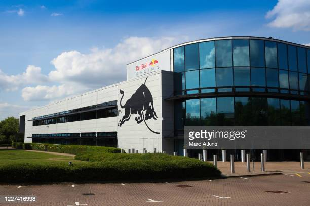General view of the Red Bull F1 Racing team headquarters on May 27, 2020 in Milton Keynes, United Kingdom. The British government continues to ease...