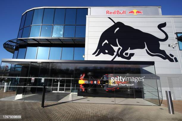 General view of the Red Bull Racing Factory on January 22, 2021 in Milton Keynes, England.