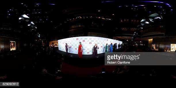 General view of the red carpet at the 58th Annual Logie Awards at Crown Palladium on May 8 2016 in Melbourne Australia