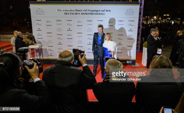 A general view of the red carpet during the German Sports Media Ball at Alte Oper on November 4 2017 in Frankfurt am Main Germany