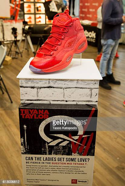 fdda4f8d37ca19 General view of the Reebok Question Mid  Teyana T  Sneaker launch At Villa  on