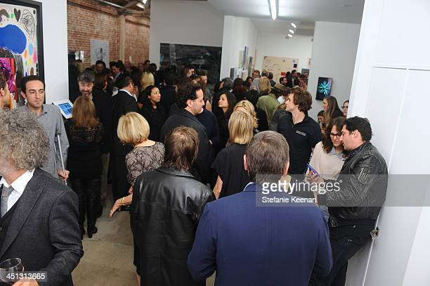 General View of The Rema Hort Mann Foundation LA Artist Initiative Benefit Auction on November 21, 2013 in Los Angeles, California.
