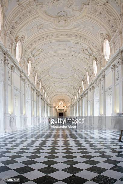A general view of the Residence of the Royal House of Savoy Reggia di Venaria Reale on November 15 2007 in Turin Italy