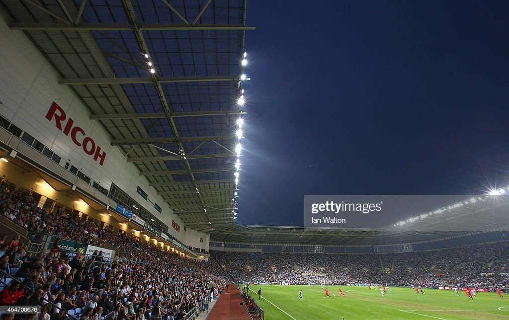 General view of the Ricoh Arena during the Sky Bet League One match between Coventry City and Gillingham at Ricoh Arena on September 5, 2014 in Coventry, England.