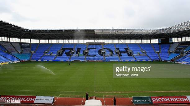 A general view of the Ricoh Arena on May 10 2011 in Coventry England