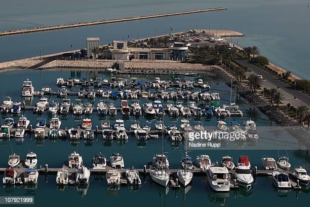 General view of The RitzCarlton marina is taken on December 30 2010 in Doha Qatar The International Monetary Fund recently reiterated its projection...