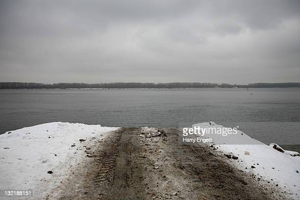 A general view of the river Volga on November 10 2011 in Samara Russia Samara is one of thirteen proposed host cities as Russia prepares to host the...