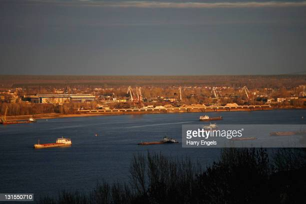 A general view of the river Volga on November 4 2011 in Nizhny Novgorod Russia Nizhny Novgorod is one of thirteen cities proposed as a host city for...
