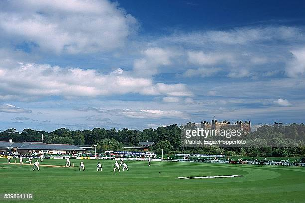 General view of the Riverside cricket ground during England Under19s' innings of the 3rd Test match between England U19 and Australia U19 at...