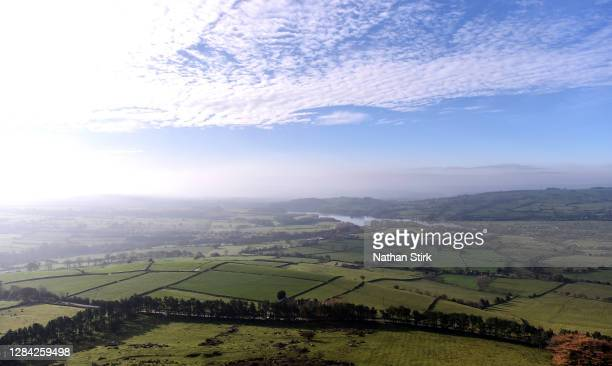 General view of the Roaches in the Peak District on November 06, 2020 in Leek, Staffordshire .