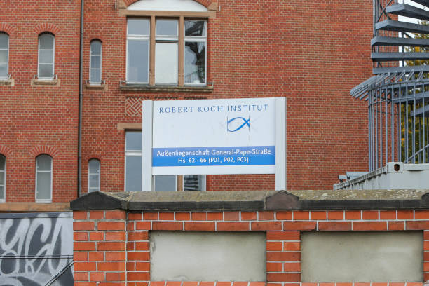 DEU: Robert Koch Institute Building Exterior Vandalized