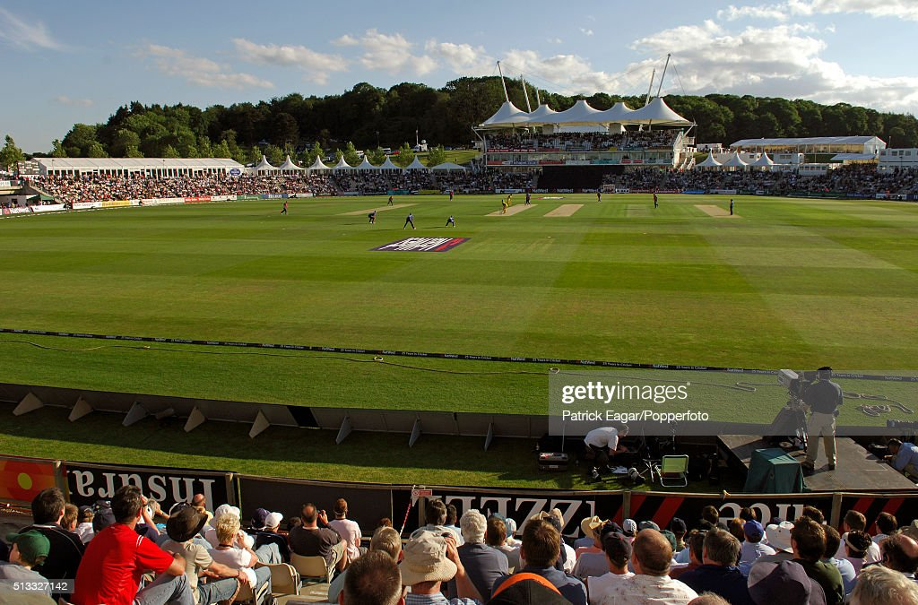 General View Of The Rose Bowl Cricket Ground During The