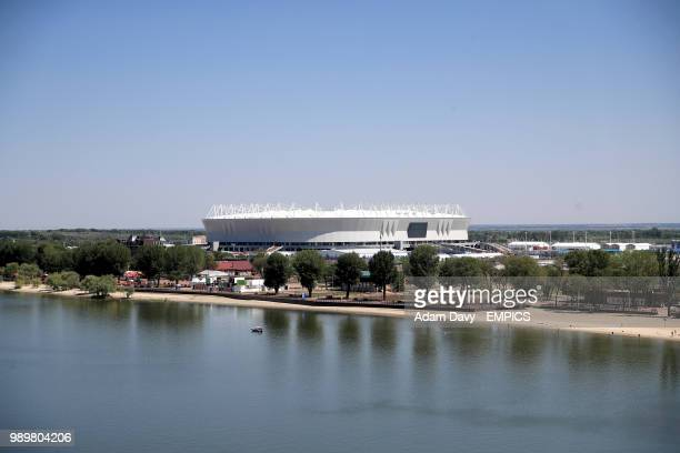 A general view of the Rostov Arena Belgium v Japan FIFA World Cup 2018 Round of 16 Rostov Arena
