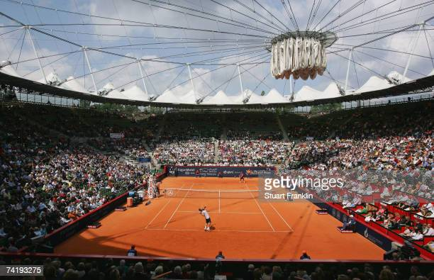 A general view of the Rothenbaum Tennis Stadium during day six of the Tennis Masters Series Hamburg at Rothenbaum Tennis Centre on May 19 2007 in...