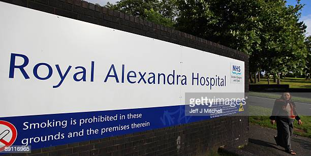 A general view of the Royal Alexandra Hospital on July 20 2009 in Paisley near Glasgow Scotland