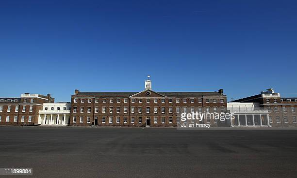 A general view of the Royal Artillery Barracks which will be used as the venue for the Shooting Paralympic Shooting Paralympic Archerys events in the...