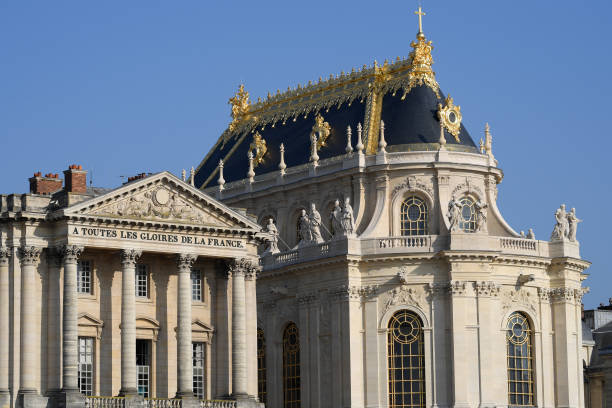 FRA: The Restoration Of The Royal Chapel Is Over At The Palace Of Versailles