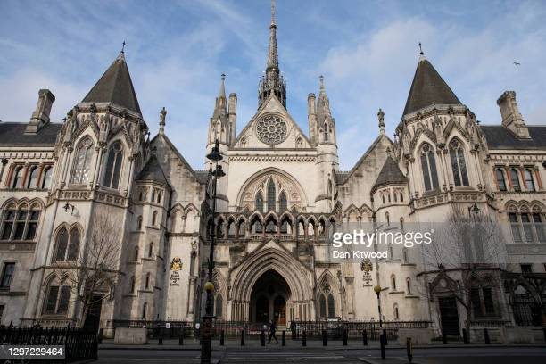 General view of the Royal Courts of Justice on January 19, 2021 in London, England. Criminal watchdogs representing England and Wales have expressed...