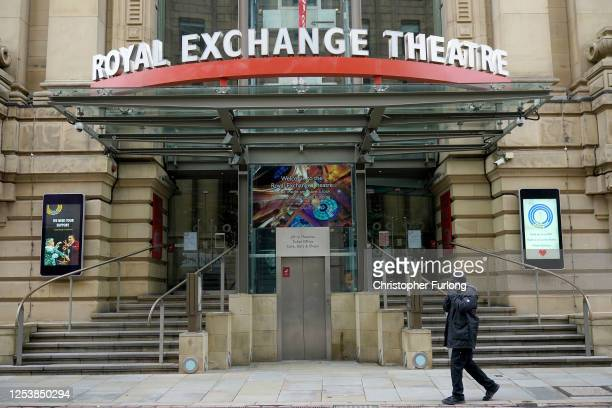 General view of the Royal Exchange Theatre which could make over half of its staff redundant on July 02, 2020 in Manchester, United Kingdom. The...