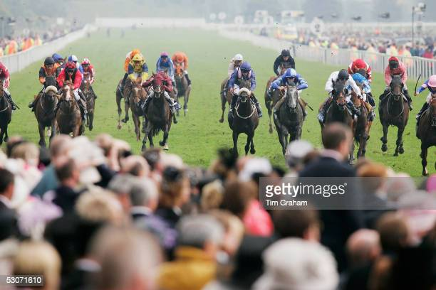 A general view of The Royal Hunt Cup Race on the second day of Royal Ascot 2005 at York Racecourse on June 15 2005 in York England One of the...